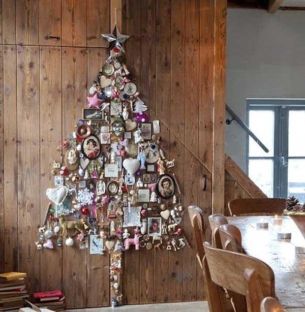 wall-christmas-tree-decorating-idea