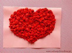 Obraz znaleziony dla: kulki z bibuły czerwone