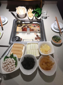 Vegan hot pot at Haidilao, China