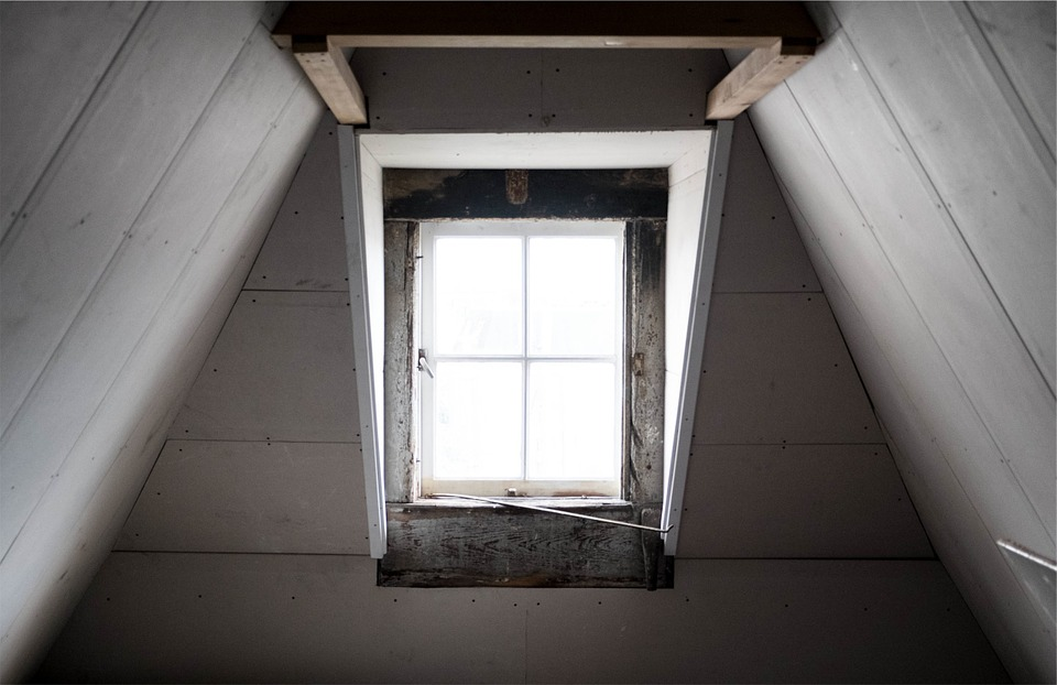 Window, Attic, Wood, Architecture, House, Home