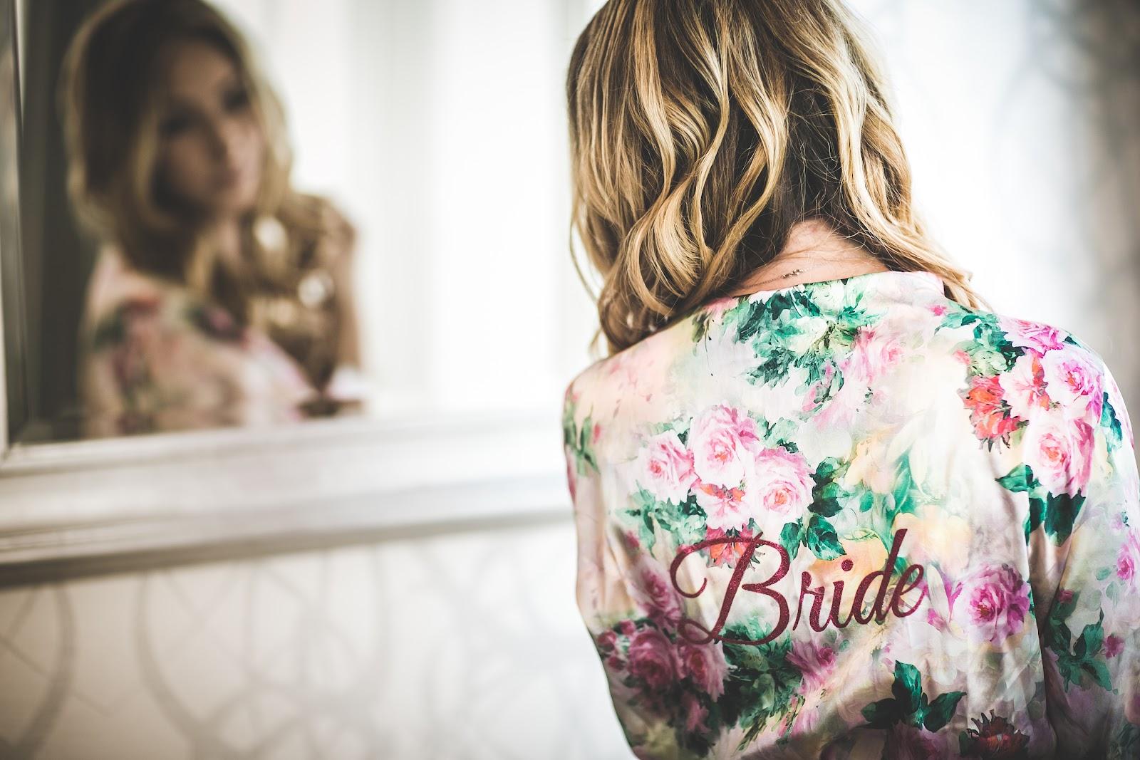 Beach wedding bridal robes