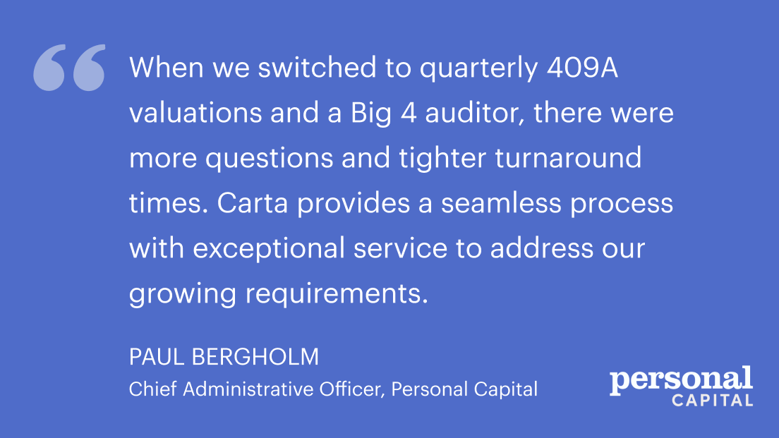 Enterprise valuations with Carta 4