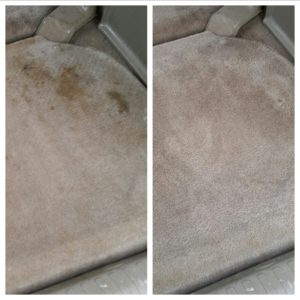 Floor mats stain Removal