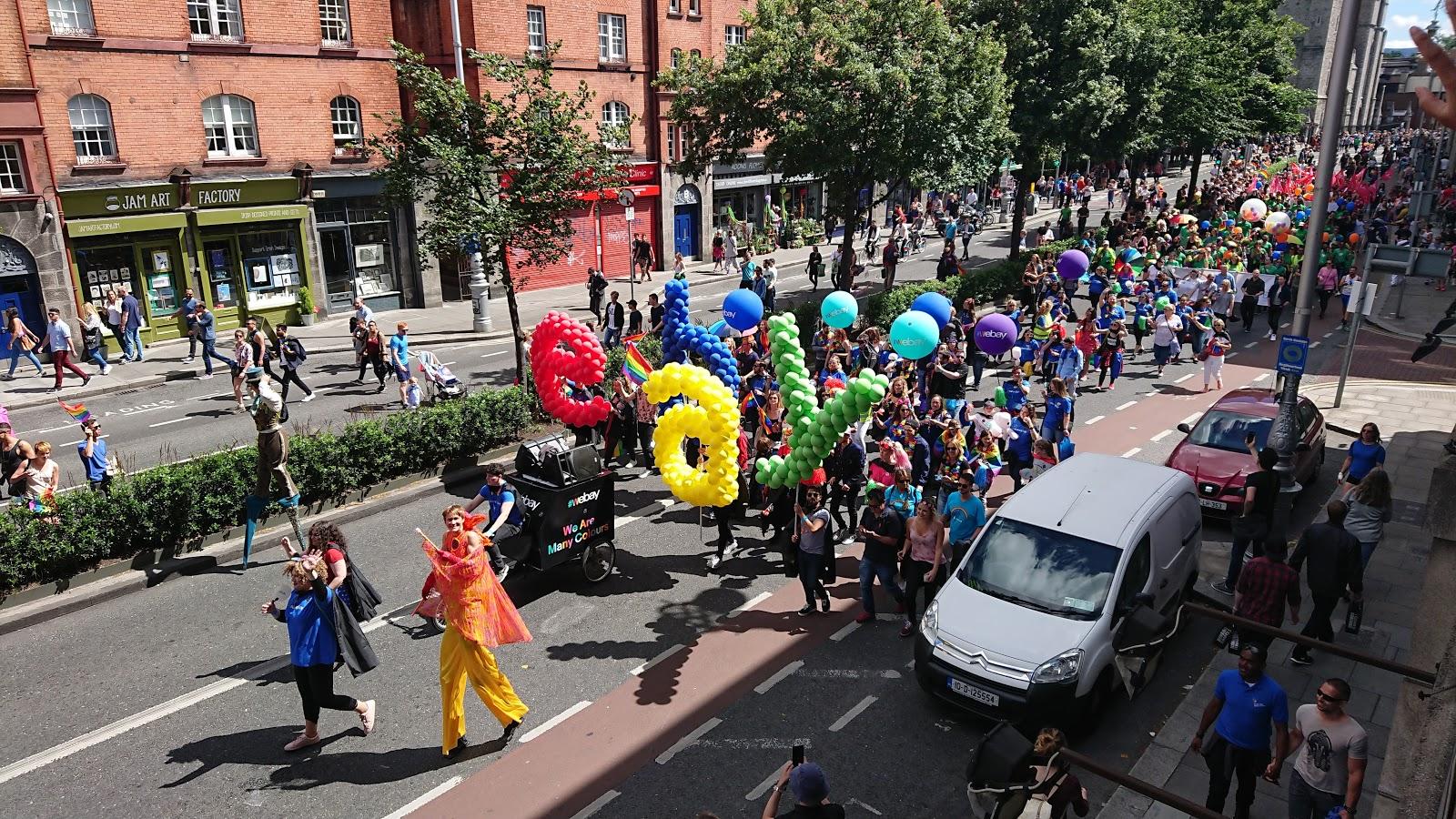eBay in Dublin Pride 2017