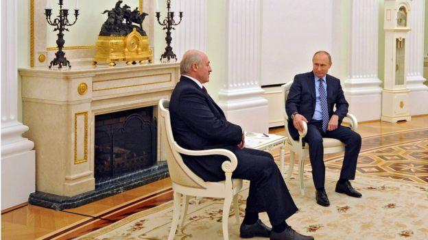 Последний раз Лукашенко был с визитом в Москве в конце ноября прошлого года