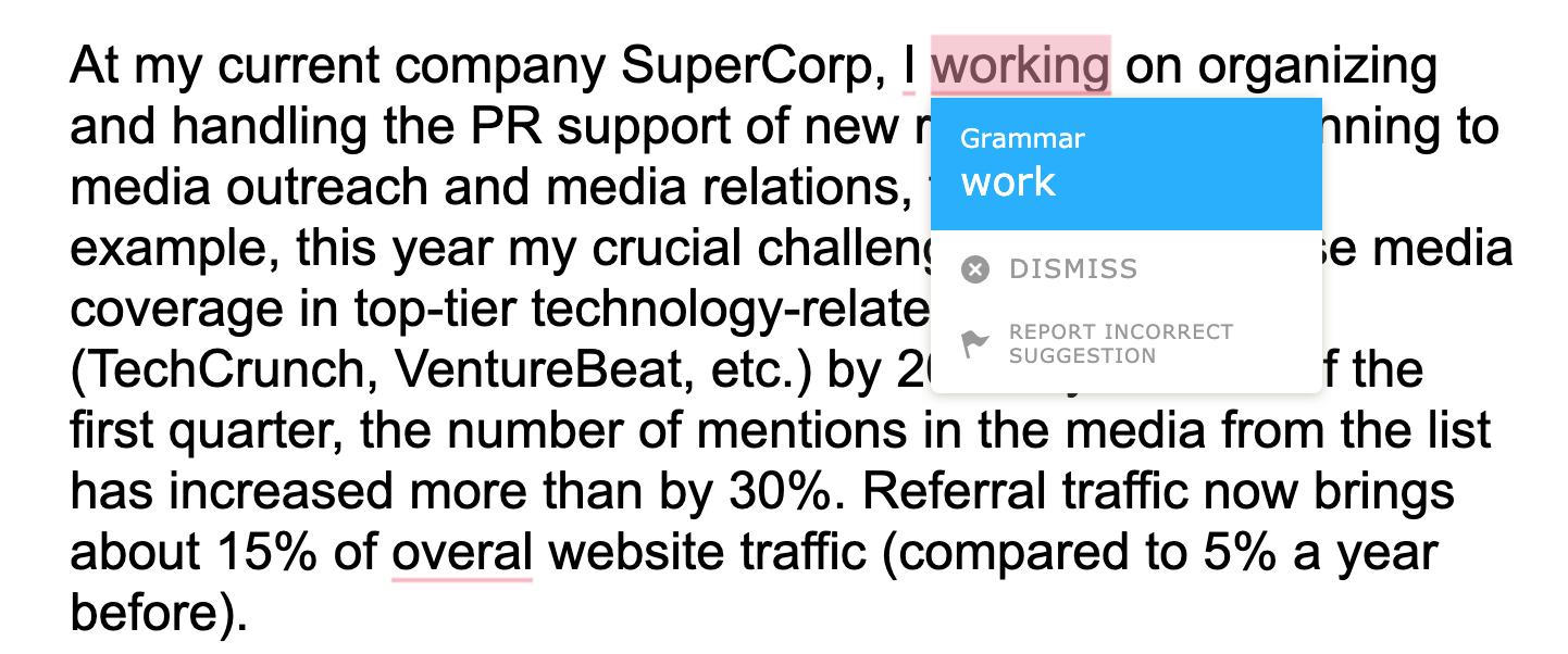 To Eliminate Them Run Your Final Cover Letter For A Job Application Through Grammar Checker Example TextlyAI
