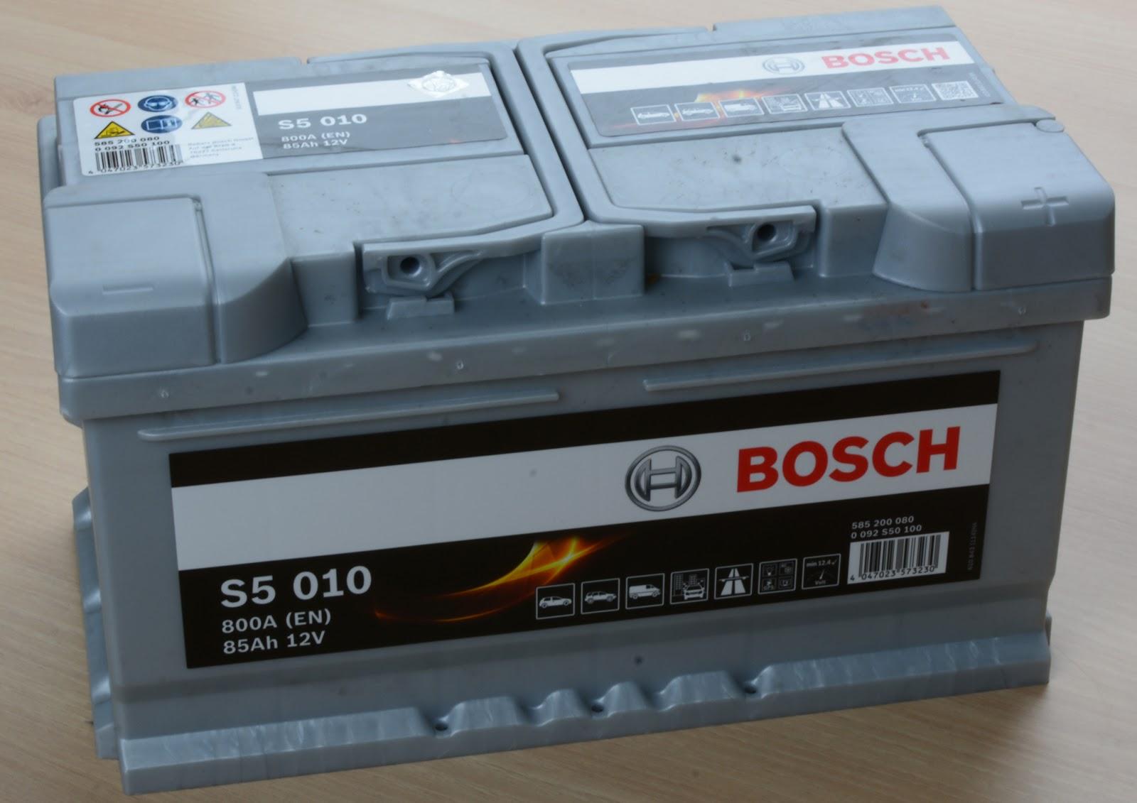 Аккумуляторная батарея бош 85а