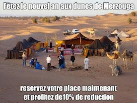 Reveillon au desert de Merzouga