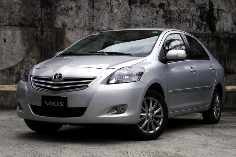 2012 Toyota Vios exterior