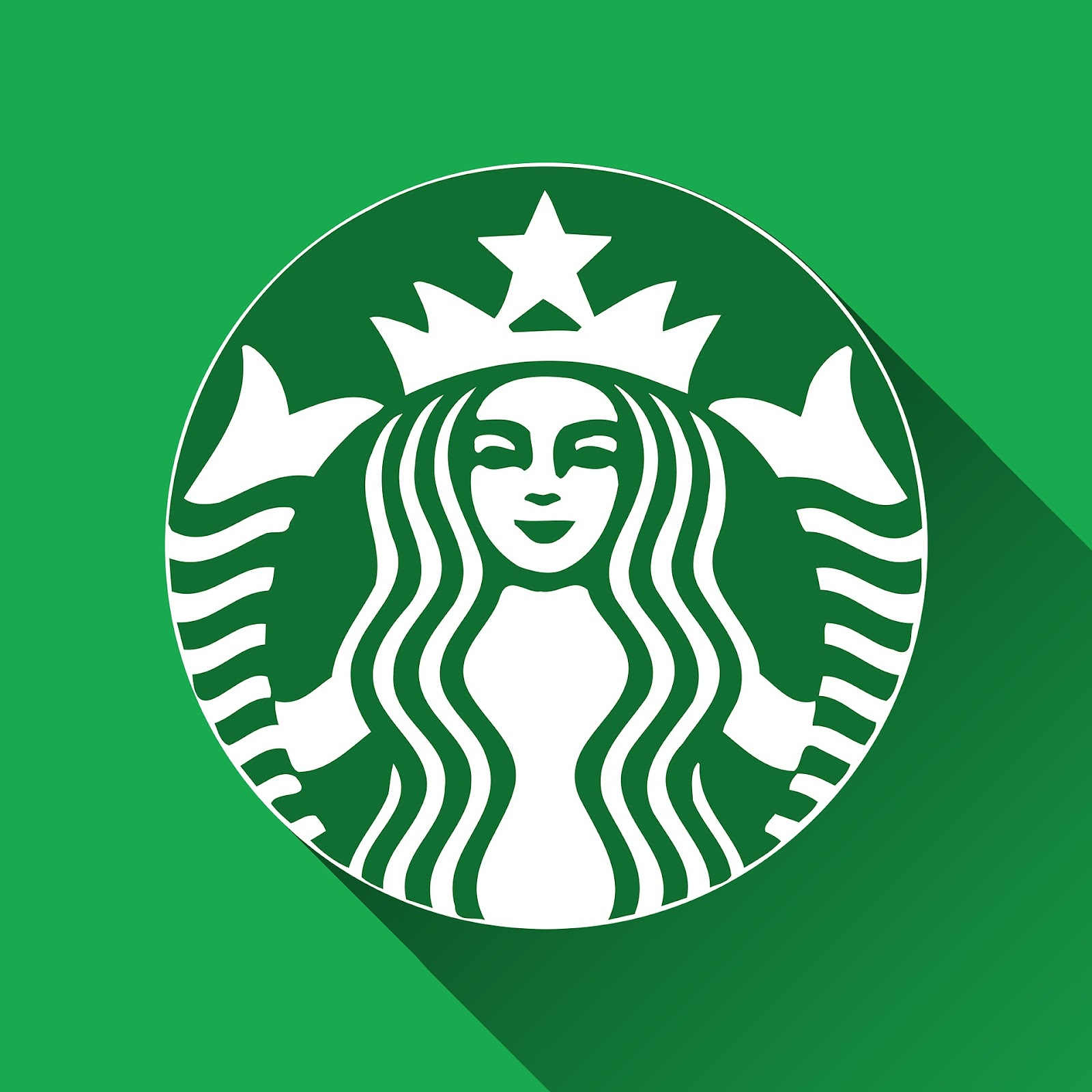 green color palette starbucks logo