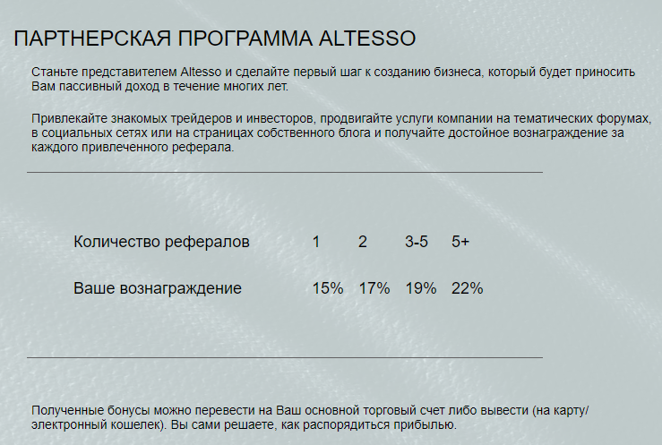 Обзор финансовой компании AlTesso - 5
