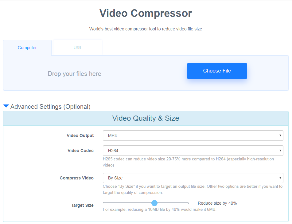 video compressor image