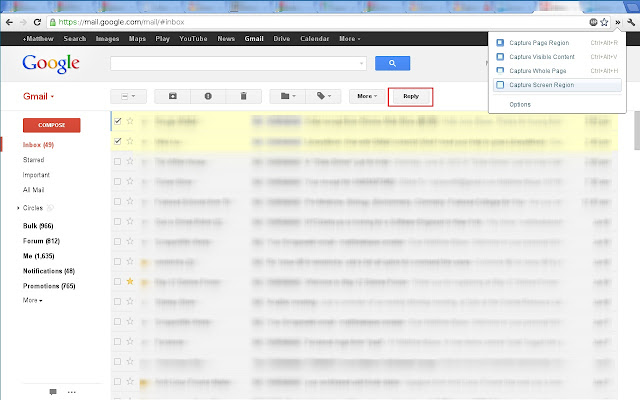 how to get conversations on gmail