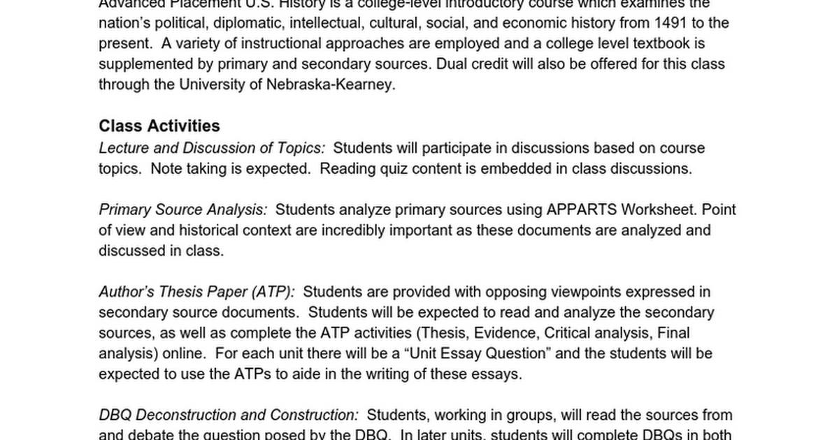 Historical analysis essay