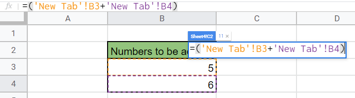 Shows how to reference multiple worksheets within the spreadsheets structure
