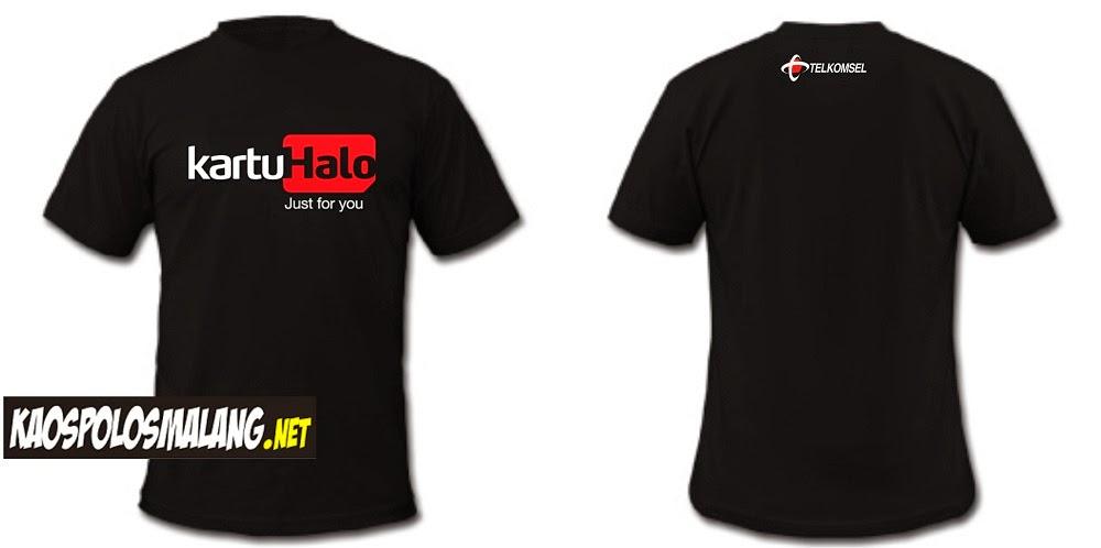 Desain Kaos Kartu Halo | Kaos Polos Malang
