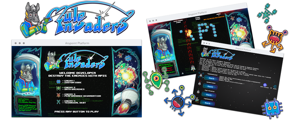 Build and play our Mule Invaders game!