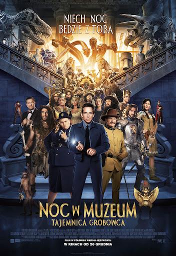 Polski plakat filmu 'Noc W Muzeum: Tajemnica Grobowca'