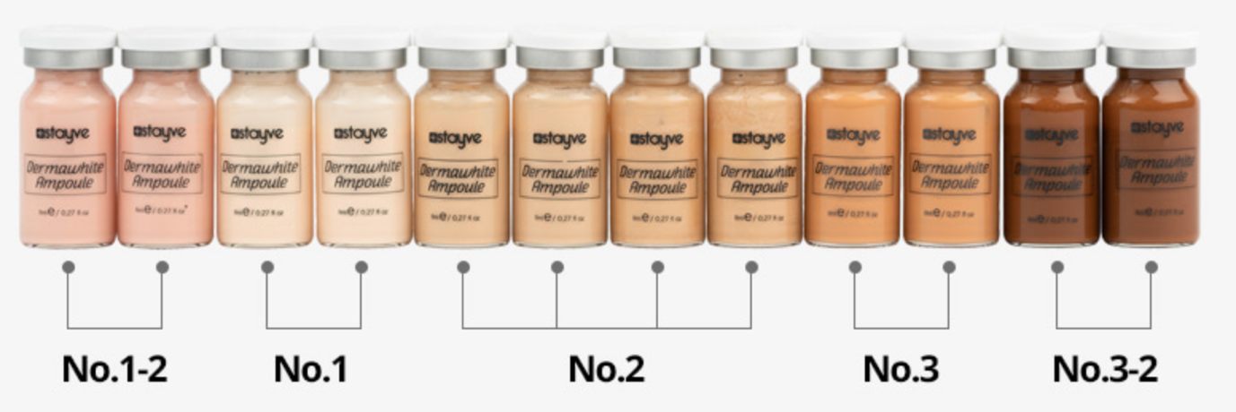 Stayve pigments kit BB Glow