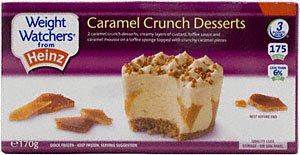 Weight Watchers Caramel Crunch Desert