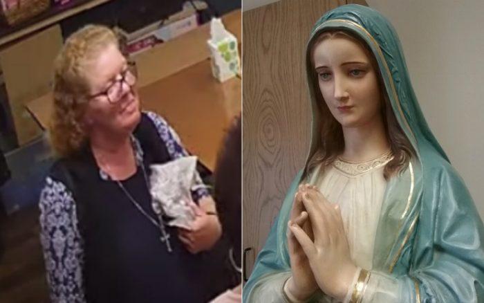 Tin riêng: Những giọt lệ máu theo thị kiến được vẽ giả trên tượng Mẹ Maria, nhà điêu khắc lau tượng tiết lộ