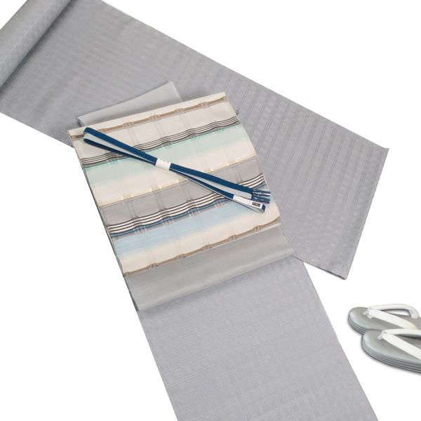 白たか織 吉野織と藤山千春 吉野間道のコーディネート