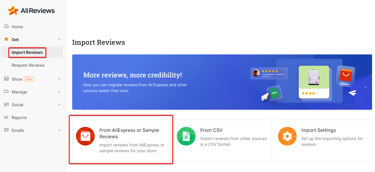 How to import AliExpress reviews to Shopify store