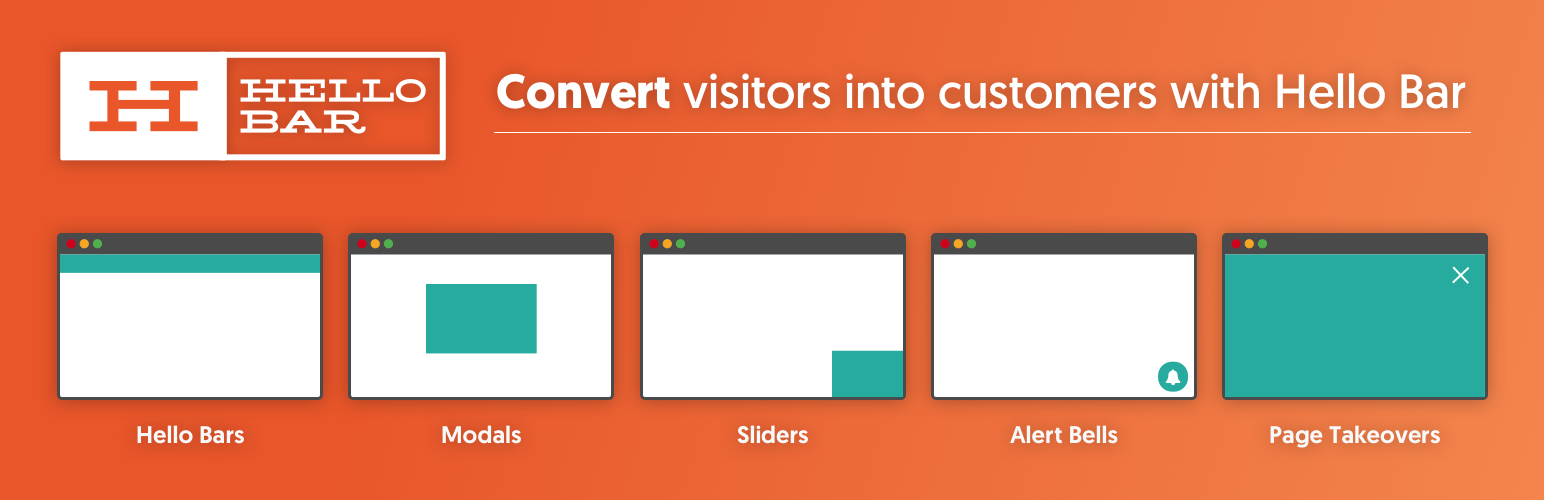 Convert visitors into customers to support marketing growth
