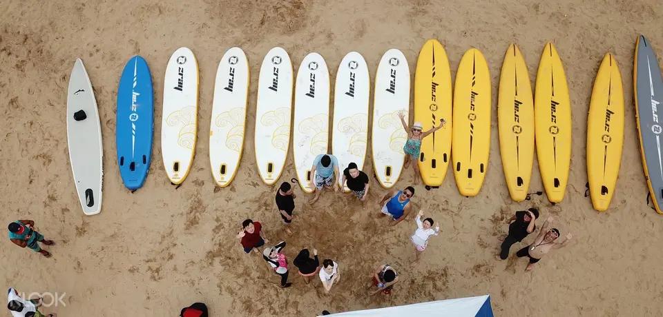 外木山站立式划槳SUP體驗