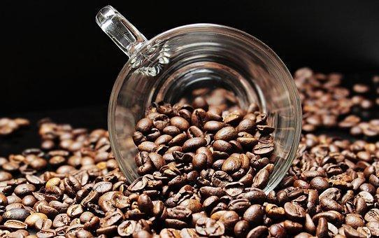 Coffee Beans, Coffee Cup, Cup, Coffee