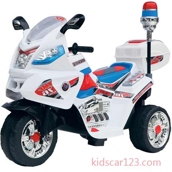 Xe môtô điện trẻ em - JT 015 màu trắng