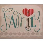 canvas painting design - FAMILY