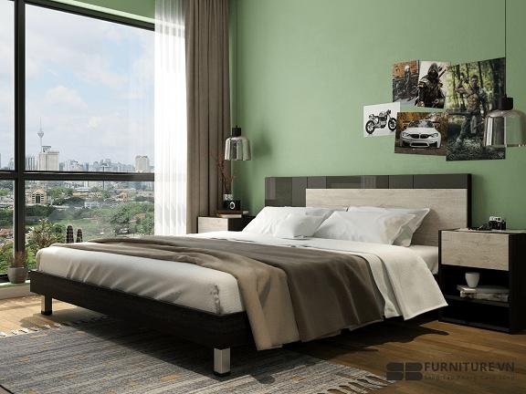 Nên chọn giường gỗ công nghiệp hay gỗ tự nhiên