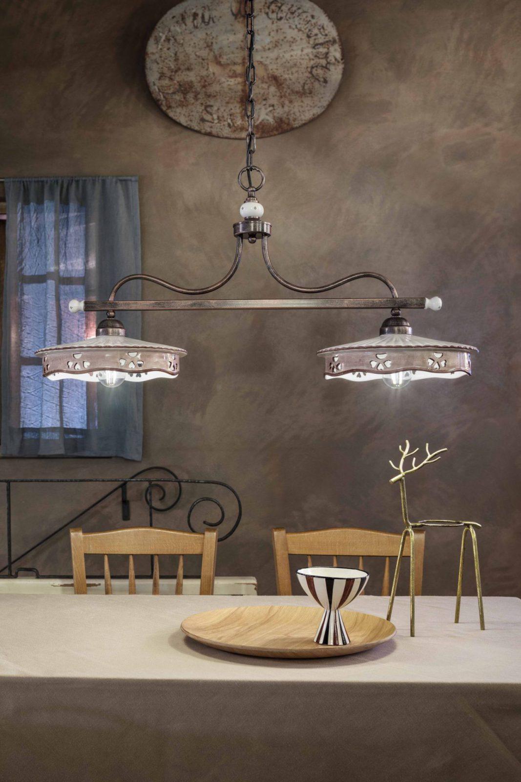 Bilanciere. Lampade da soffitto per cucina in stile classico