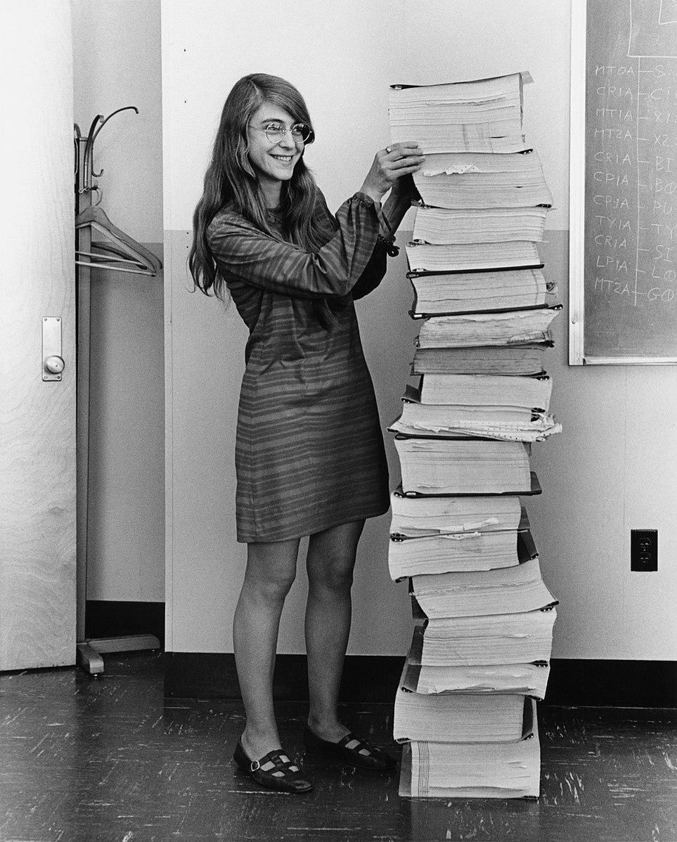 Margaret Hamilton_women in computers_Callibrity