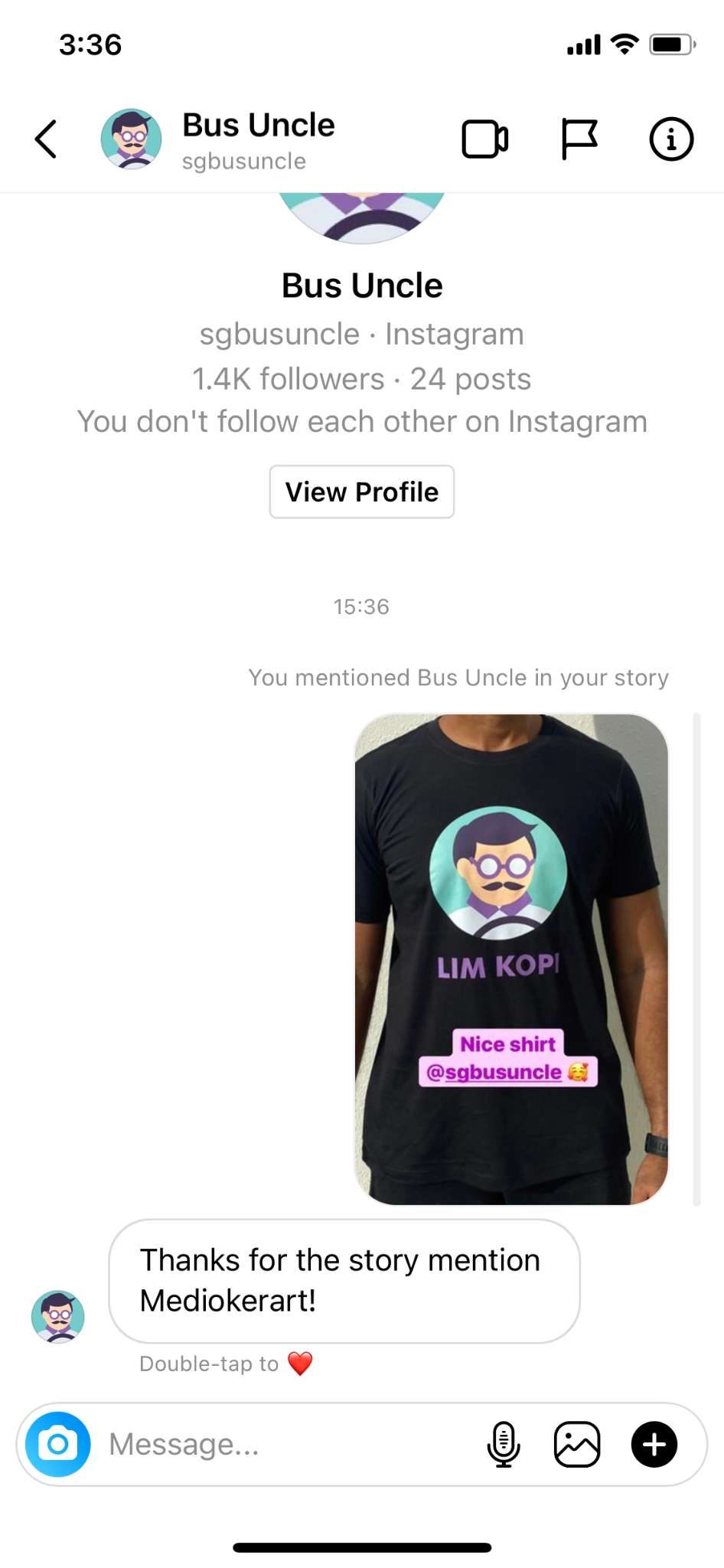 Acknowledge Mentions instantly with an Instagram Chatbot