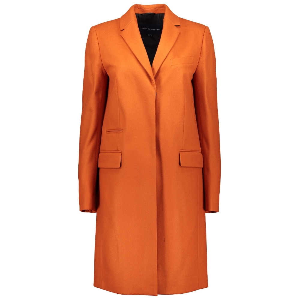 FRENCH CONNECTION Platform Felt Smart Fit Coat