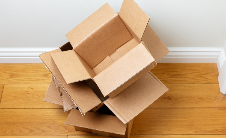 You can get free moving boxes to cut down on the cost of moving.