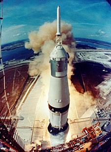 Launch of a Saturn V rocket