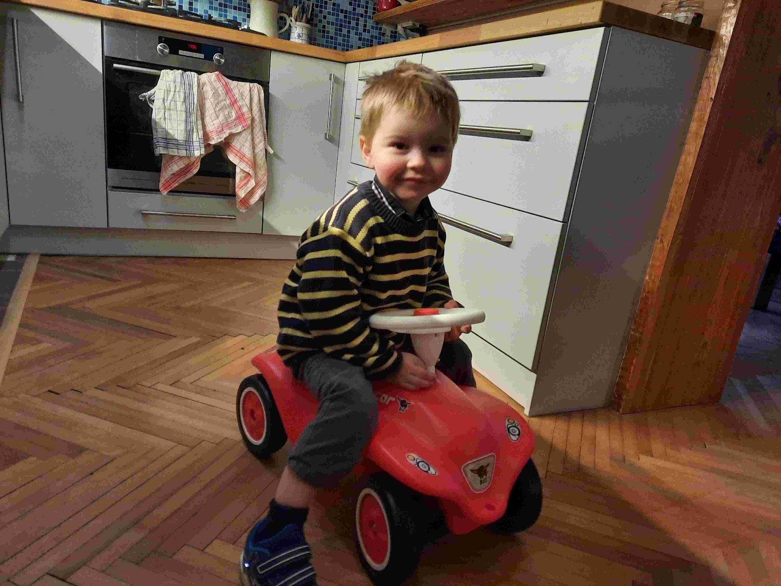 Recenze Pompo.cz: Bobby Big Car červené odrážedlo