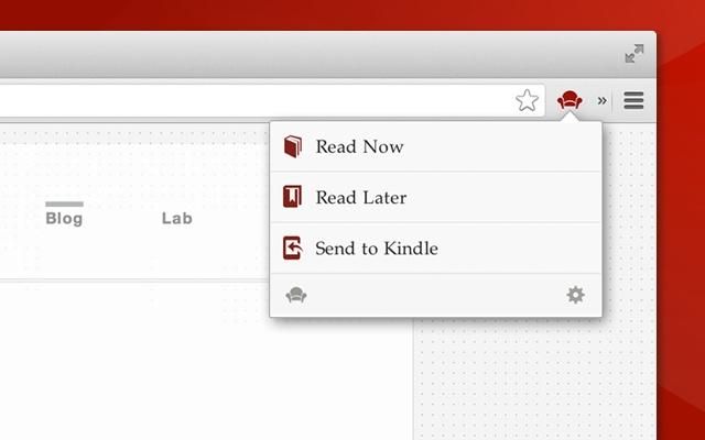 Readability chrome extension