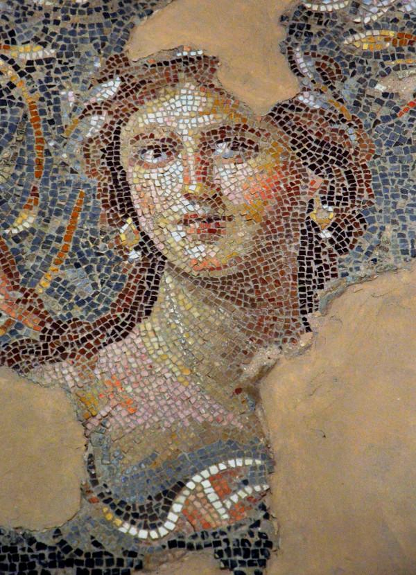 Mosaic portrait