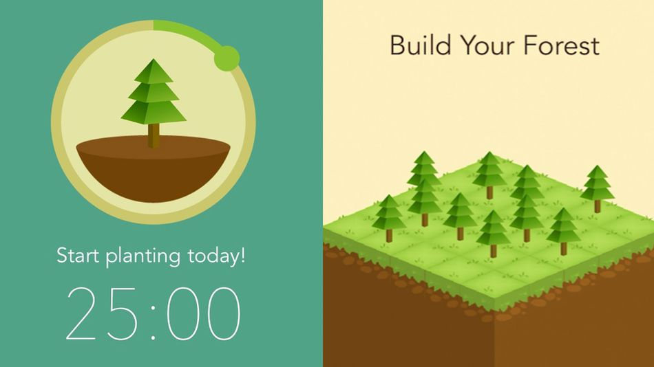 Forest Stay focused - App para evitar a procrastinação
