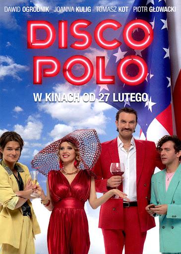 Przód ulotki filmu 'Disco Polo'
