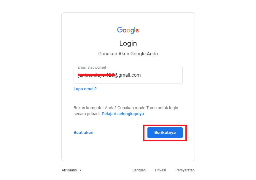 login ke akun google analytics - - Cara Memasang Google Analytics di WordPress