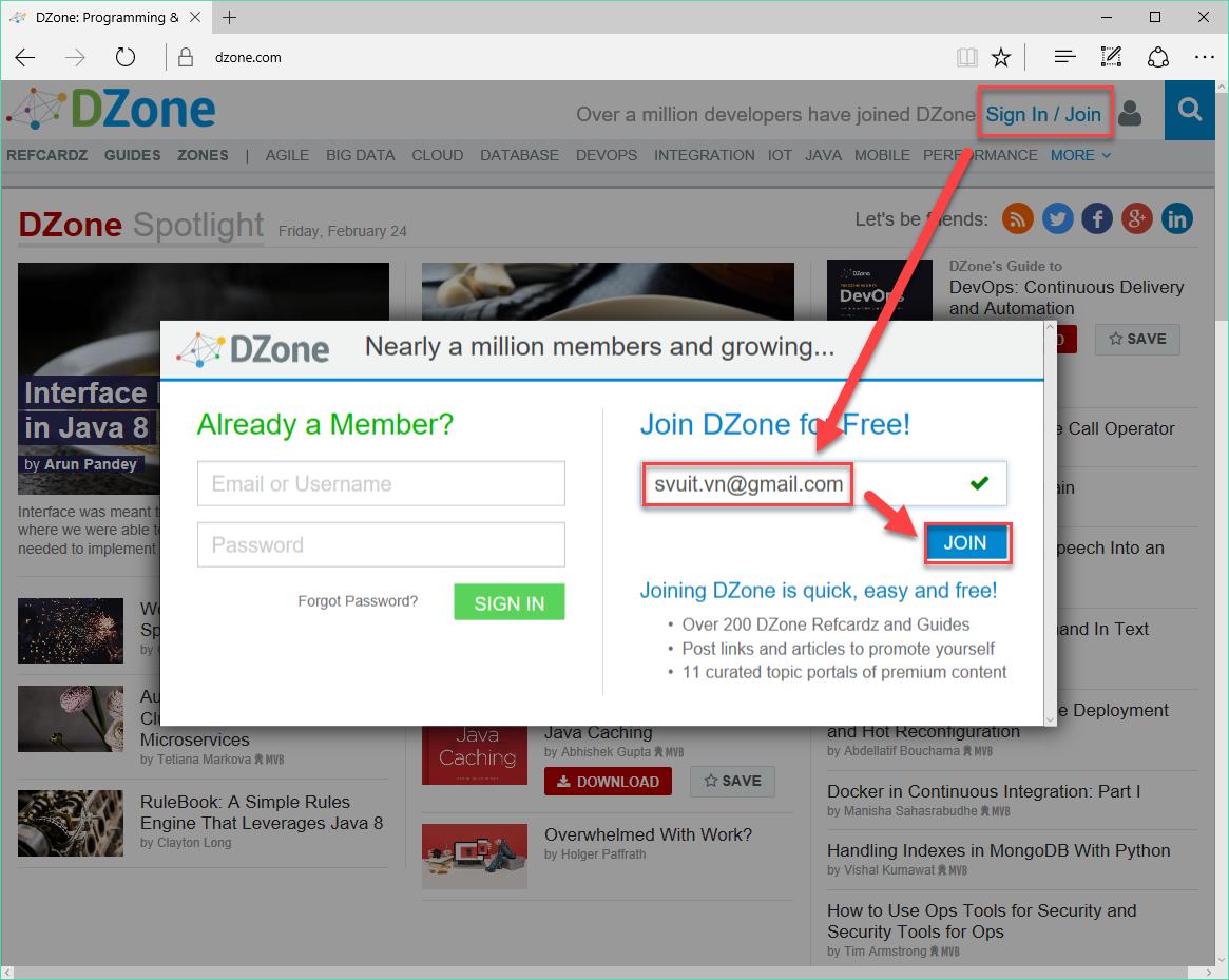 Backlink trên dzone.com(2)