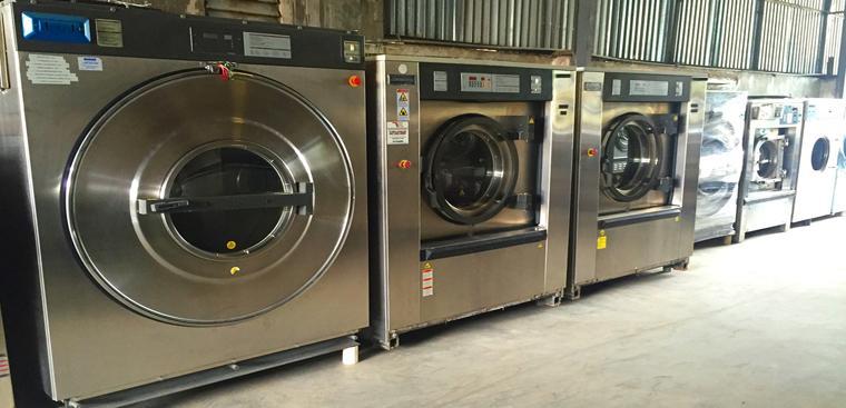 Máy giặt công nghiệp nhập khẩu – Sản phẩm hiện đại công nghệ cao