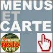 les menus et la carte du restaurant la Fontaine Fleurie