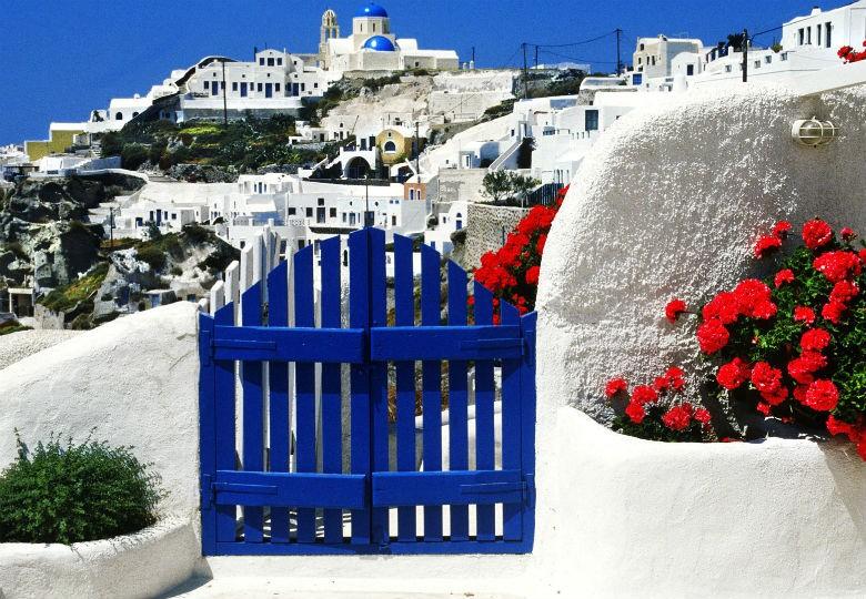 Sơn hiệu ứng Waldo-Stucco ứng dụng phong cách Santorini