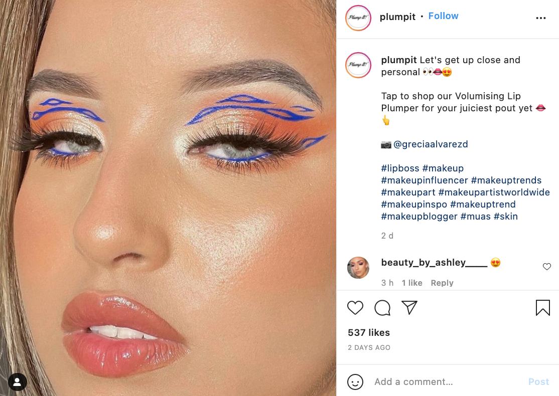 repost on instagram example